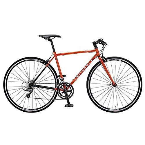 ミヤタ(MIYATA) フラットハンドルロードバイク フリーダム フラット AFRT528 (カッパーオレンジ/ブラック 52cm