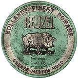 Reuzel Medium Green Grease Hold Pomade by Reuzel