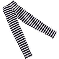 SONONIA ストライプ レギンス 長い靴下 ズボン 12インチブライスBJD人形用 ドレスアップ 3色 - 黒