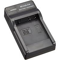 NinoLite USB型 バッテリー 用 充電器 海外用交換プラグ付 Panasonic DMW-BCG10 DMW-BCF10 DMW-BCJ13 対応 DC57/K4
