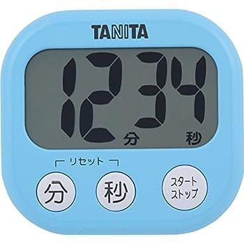 タニタ でか見えタイマー100分 アクアミントブルー TD-384-BL