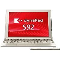 東芝 dynaPad S92/T(TransferJet(TM)搭載) PS92TSGA7T7JD21