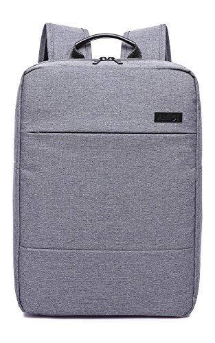 AMMI ビジネスリュック リュックサック ビジネスバッグ 15.6インチ PCバッグ 防水 通勤 通学 男女兼用 ビジネス(15.6インチ, グレー②)