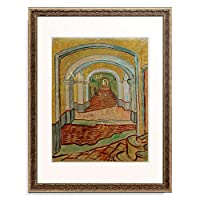フィンセント・ファン・ゴッホ Vincent Willem van Gogh 「Corridor in the Asylum」 額装アート作品