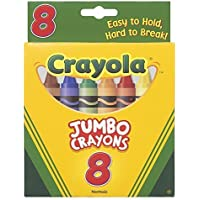16パックCrayola LLC FORMERLY BINNEY &スミスクレヨンJumbo 8 Ct Peggable Tuckボックス