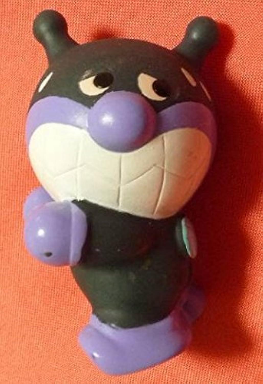 2007年製 アンパンマン 指人形 マスコット 冷汗 ばいきんまん