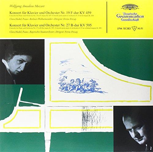 MOZART: CONCERTOS FOR PIANO AND ORCHESTRA NOS. 19 & 27 [LP] (180 GRAM AUDIOPHILE VINYL) [12 inch Analog]
