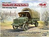 ICM 1/35 第一次世界大戦 アメリカ陸軍 軍用トラック スタンダードB リバティシリーズ2 プラモデル 35651