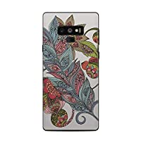 Decalgirl Samsung Galaxy Note 9用スキンシール Feather Flower