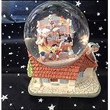 ピノキオ スノードーム オルゴール スノーグローブ disney ディズニー
