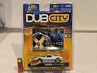 164 Jada DUB CITY FORD GT 2005 ホイール カスタム ミニカー フォード 白 モデルカー ホワイト アメ車
