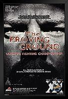 proframes UFC 11The Proving Groundスポーツフレーム入りポスター12x 18 12  x 18  Inch