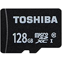 TOSHIBA microSDXCカード 128GB Class10 UHS-I対応 (最大転送速度40MB/s) 5年保証 (国内正規品) MSDAR40N128G