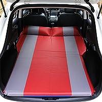 SUVエアベッド、GZD車自動膨張式マットレスSUV、MPV、車、トラック用の拡張クッションスリープソファ。ホーム、車、屋外キャンプユニバーサル、132 * 180センチメートル,Red