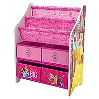 DELTA [ デルタ ] 本棚&おもちゃ箱 TB84655PS Disney Princess ディズニープリンセス Book & Toy Organizer [並行輸入品]