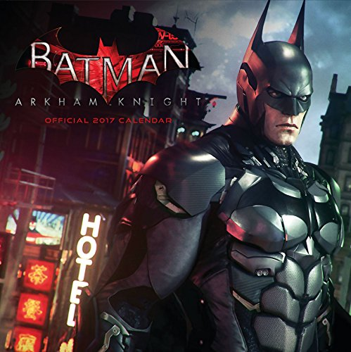 Batman: Arkham Knight Official 2017 Square Calendar (Calendar 2017)