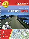 Europe 2019 - Tourist and Motoring Atlas (A4-Spirale): Tourist & Motoring Atlas A4 spiral (Michelin Road Atlases) 画像
