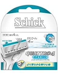 シック クアトロ4 チタニウム替刃 (4コ入)