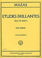 MAZAS - Estudios Brillantes Op.36 Vol.2 para Violin (Galamian)