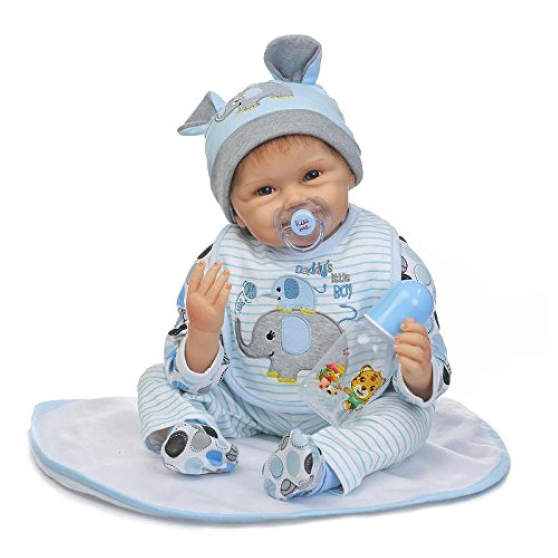 NPKDOLLシミュレーションRebornベビー人形ソフトSilicone 22インチ55 cmビニールLifelike Vivid Toy Boy Girl rd55 C172