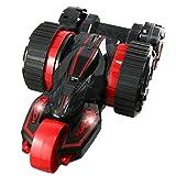 ラジコン 5輪型 アクロバット走行 360°スピン 変形 『5ROUND STUNT』(OA-686R)レッド