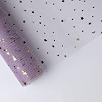 XZGang ブーケ包装ガーゼ、写真の背景ガーゼ壁装飾紙フラワーショップ花ギフト装飾材料、1巻 デコレーション (Color : #5)