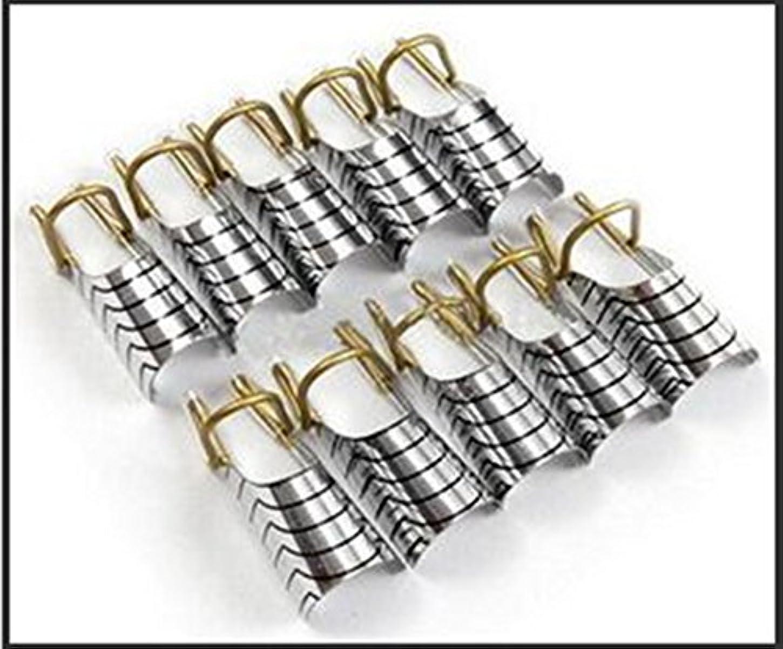 抵抗する数強化ACHICOO 美甲铝拖1PC银色
