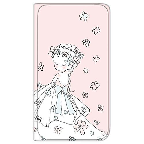 Caho Galaxy S9 Plus SM-G9650 ケース 手帳型 薄型プリント手帳 ウェディングB (ch-012) カード収納 ストラップホール スタンド機能 WN-LC582697-LL