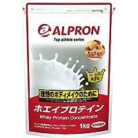 アルプロン -ALPRON- ホエイプロテイン キャラメル風味 1kg アルプロン