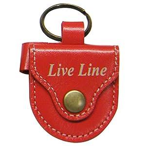 LIVE LINE ライブ ライン レザーピックケース Red LPC1200RD