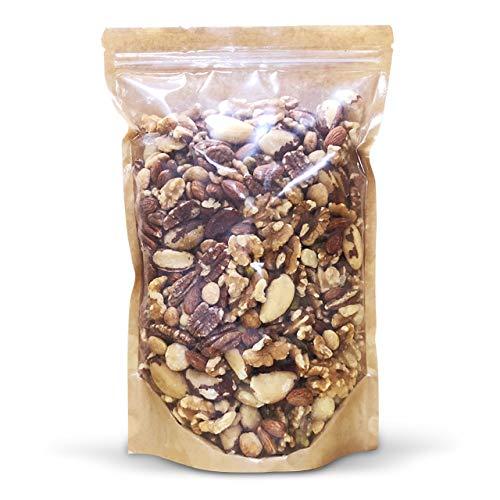 ミックスナッツ 8種類 1kg - インペリアル8種(アーモンド・カシューナッツ・ピーカンナッツ・ブラジルナッツ・クルミ・マカダミアナッツ・サチャインチ・ピスタチオ)おつまみ おやつ 徳用 ミックスナッツシリーズ