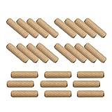 木ダボ 8×20mm 100個 木釘 木工ダボ 家具 DIY つなぎ ジョイント