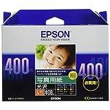 エプソン コピー用紙 写真用紙 光沢 400枚 L判 KL400PSKR [並行輸入品]