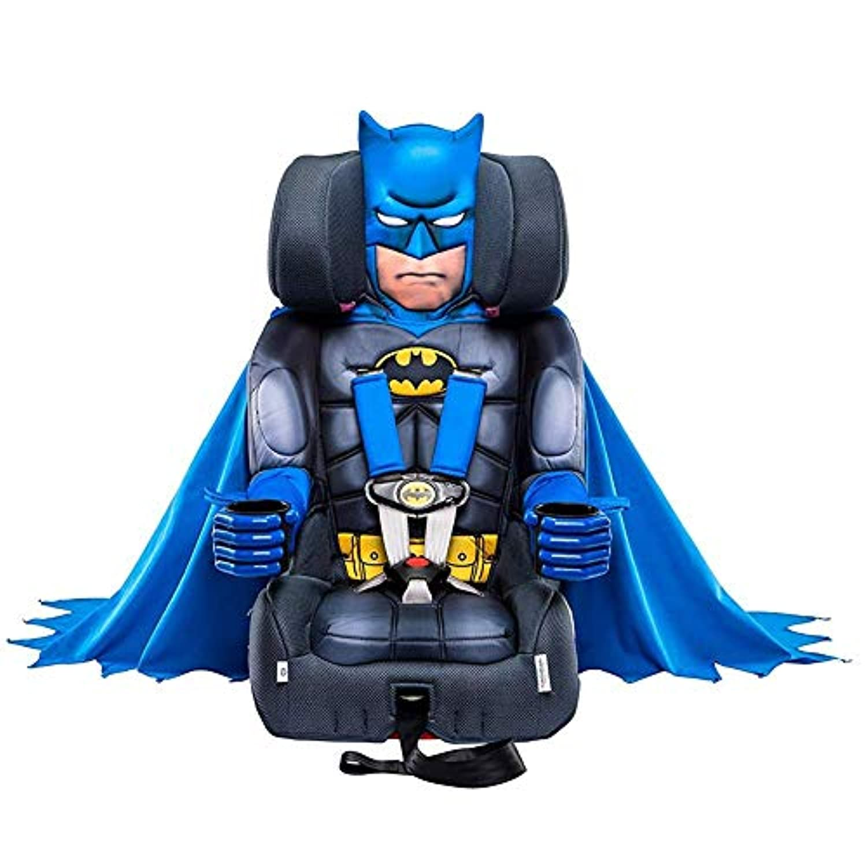 [KidsEmbrace ] [KidsEmbrace Batman Booster Car Seat, DC Comics Combination Seat, 5 Point Harness with Cape] (並行輸入品)