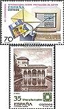 スペイン3394,3424( Complete Issue。)1998プライバシーポリシー、aga-khan (スタンプfor collectors )