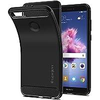 【Spigen】 スマホケース Huawei Nova Lite 2 ケース 対応 TPU 米軍MIL規格取得 耐衝撃 ラギッド・アーマー HUAWEI P smart/Enjoy 7S可能 L24CS23183 (ブラック)