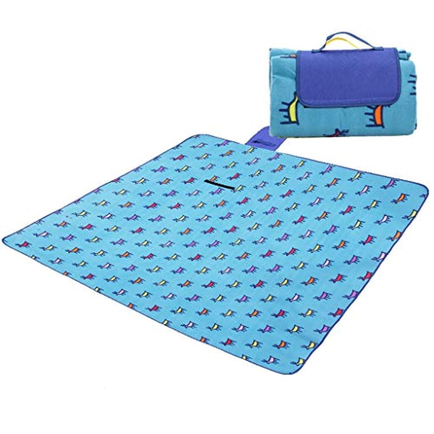 バックグラウンド出力電話する便利なビーチマット 屋外の防水折る携帯用ピクニック慰めの湿気防止パッド 折りたたみ式とポータブル (Color : B)