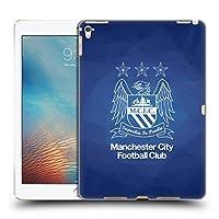 オフィシャルManchester City Man City FC 黒曜石 アウトライン・ホワイト クレスト・ジオメトリック iPad Pro 9.7 (2016) 専用ハードバックケース