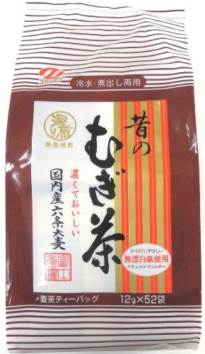 富士食糧 昔の麦茶 ティーバッグ 52パック入 624g