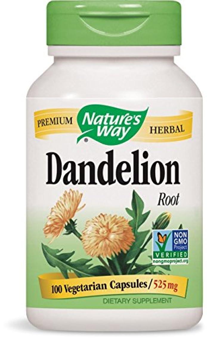 形成完璧押す海外直送品 Nature's Way Dandelion, Root 100 Caps