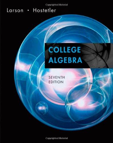 Download College Algebra 0618643109