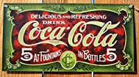 coca- Cola Tin Sign 16 x 9 in