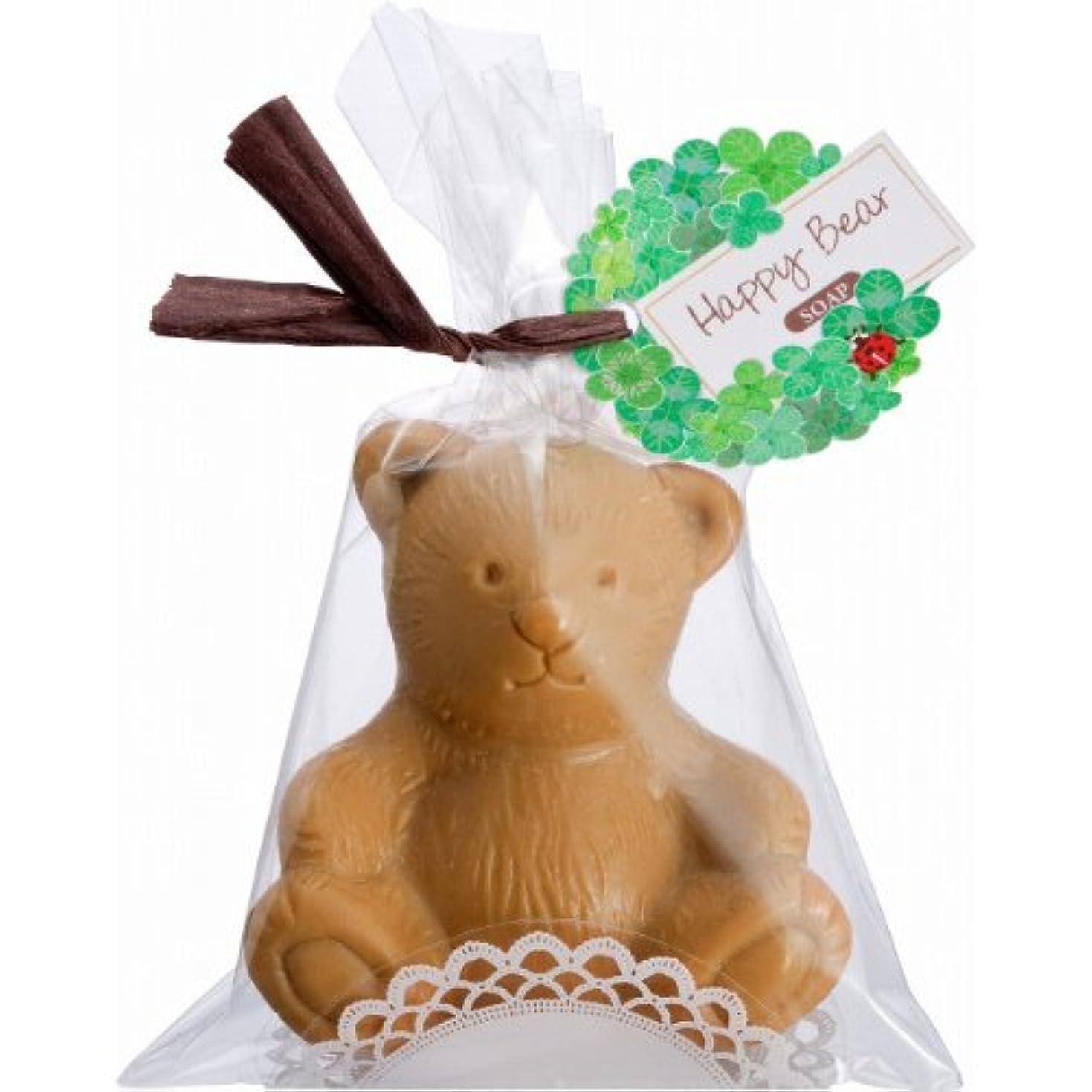 宿題羊好意HappyBear ハッピーベアソープ 香り付き  ブラウン
