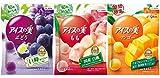 グリコ アイスの実 ぶどう もも マンゴー7ml×12個入×24袋