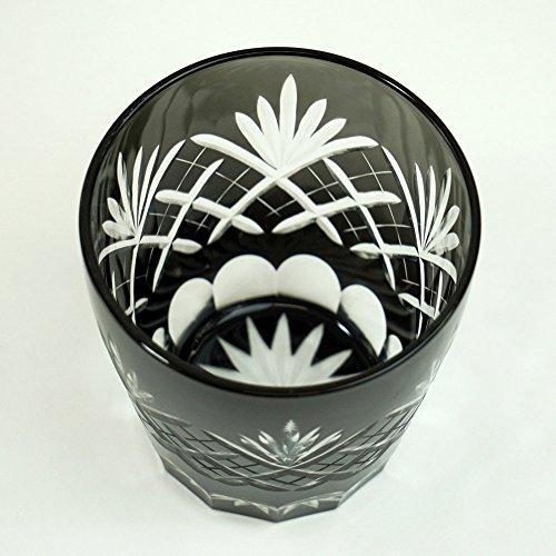 トーフク 切子グラス 江戸菱花 オールド(BK) TK-111