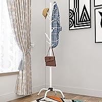XRXY 多機能床材コートラック/家庭用ベッドルームハンガー/リビングルーム/クリエイティブ衣類ハンガー ( 色 : 白 )