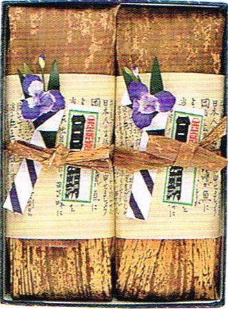 窮極の西京漬  【京華漬 竹皮包み 2本】 【入り数 : 銀鱈(ぎんだら)3切れ・さわら3切れ】