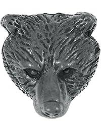 Bear Headラペルピン