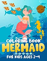 Mermaid Coloring Book for Kids Ages 2-4: Jumbo Coloring Book For Kids Girls Boys