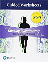 Guided Worksheets for Thinking Quantitatively: Communicating with Numbers Update【洋書】 [並行輸入品]